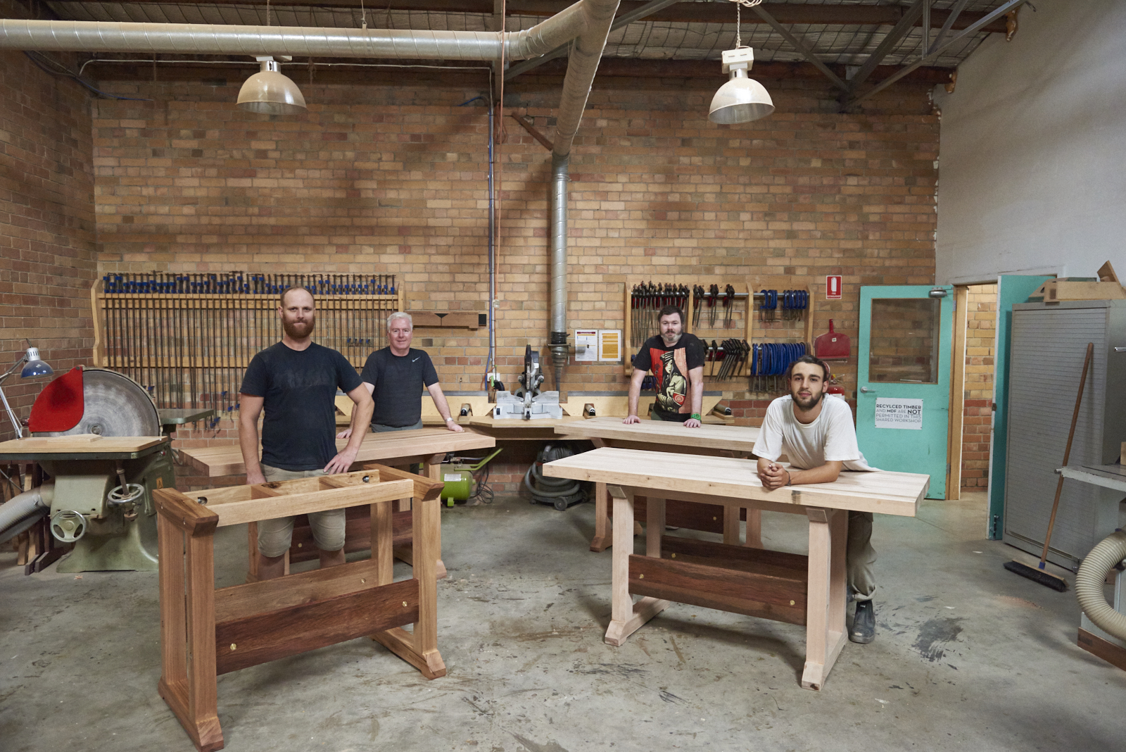 handsome & co. | build your first woodwork workbench in